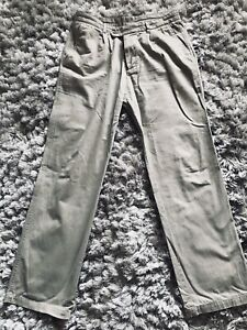 Austin Reed Mens Chinos 36l Oatmeal Very Good Condition Ebay