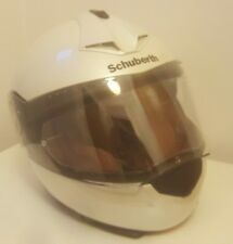 Schuberth ladies Pro motorcycle Helmet Glossy White Size S