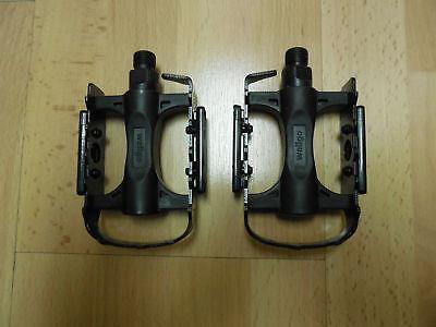WELLGO C25 MTB BMX Aluminum Cost-effective Bicycle Bike Cycling Pedals Black