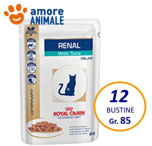 royal canin renal gatto  ROYAL CANIN RENAL con Tonno per Gatto - 12 BUSTINE da 85 grammi ...