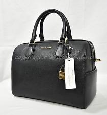 item 5 Michael Kors Mercer Medium Leather Duffle Satchel shoulder Bag in  Black -Michael Kors Mercer Medium Leather Duffle Satchel shoulder Bag in  Black 3476a1696c