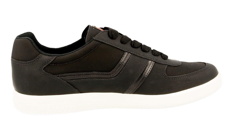 les chaussures de noir luxe prada baskets authentiques 4e3026 noir de nouvelle 7 41 41,5 491695