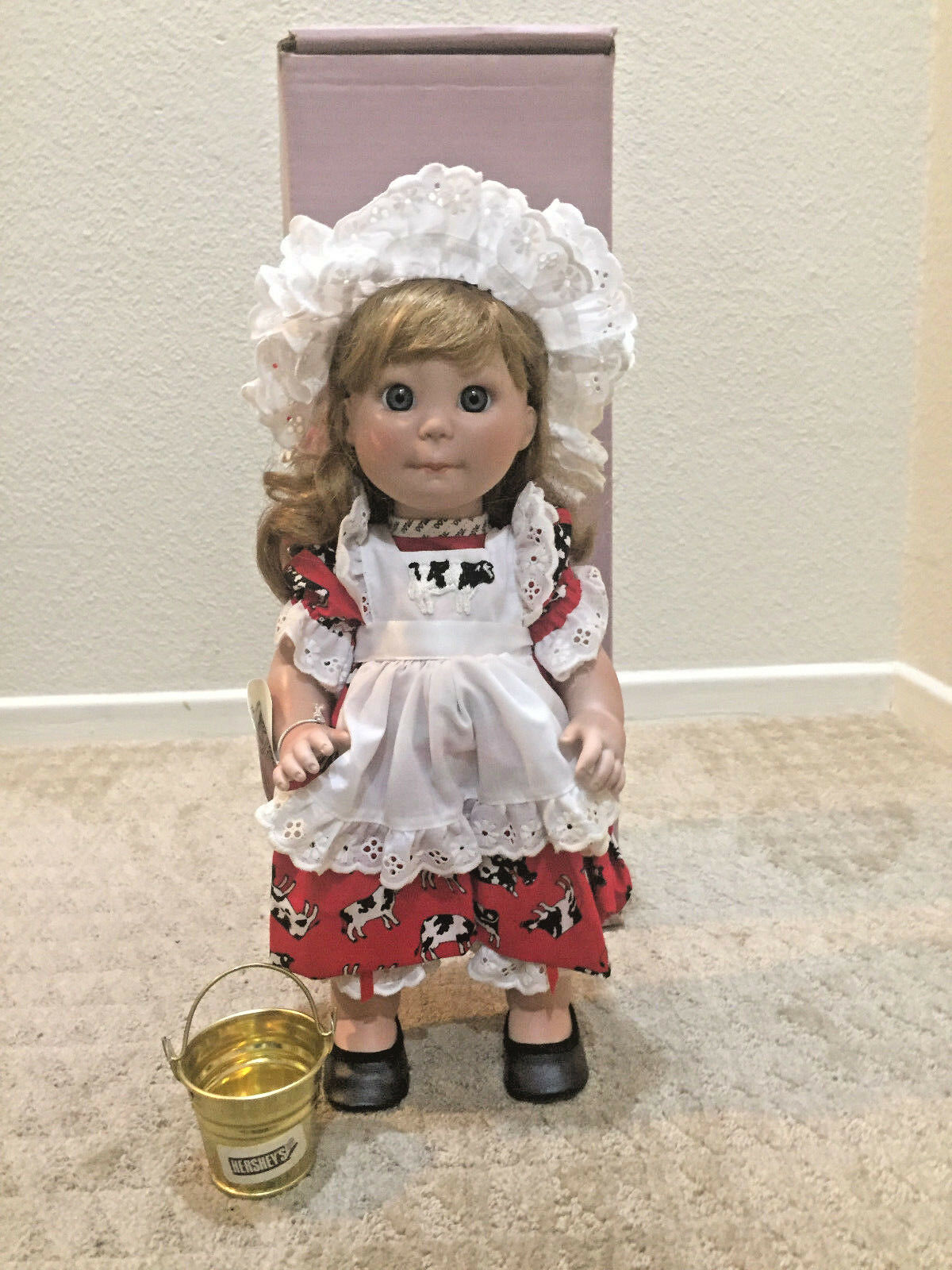 Polly Ester  Hersey  Country Girl Doll by Lee Middleton Original Dolls Inc.