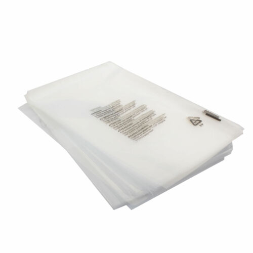 "free p/&p 10 self seal en polypropylène transparent sacs 12/""X15/"" vêtement sacs"