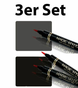 3er-Angebot-Magic-Stylo-Eyeliner-24-Std-Permanentliner-2x-Schwarz-1x-Grau