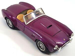 Bburago-Shelby-Cobra-427-Viola-1-24-MODELLO-AUTO-ITALIA-029EA