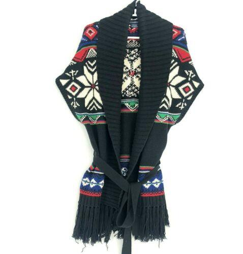 Ralph Lauren Sport Wool Blend Fair Isle Sweater Wo