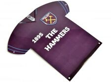 West Ham United Football Club 3D Metal Windows Wall Sign Crest Badge Official