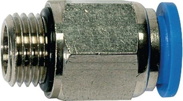 Einschraubsteckverbinder G1/2Zoll A Außen-D.10 mm gerade