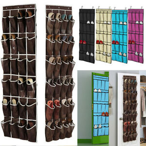 Image Is Loading 20 24 Pockets E Door Hanging Shoes Organizer