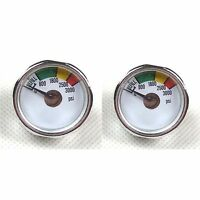 2 X 3000 Psi Paintball Micro Gauge-co2