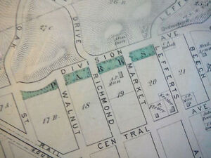 Richmond Hill NY Map From 1873 Atlas  EBay