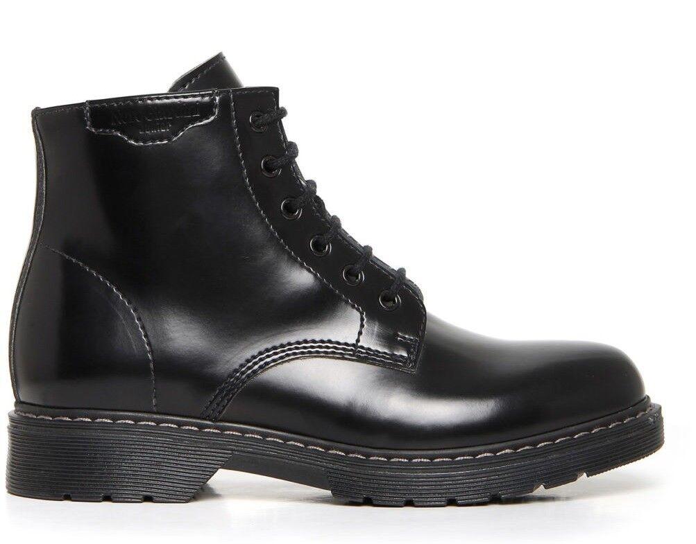 schwarz giardini Teen A734442M Schuhe Junge Herren Stiefeletten Turnschuhe
