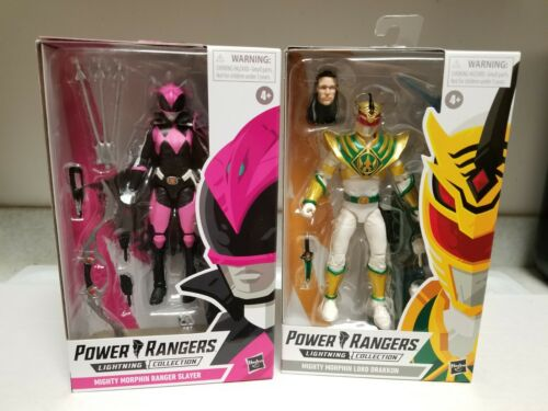 POWER RANGERS LA FOUDRE COLLECTION Lot de 2 Lord drakkon /& RANGER SLAYER NEW IN BOX
