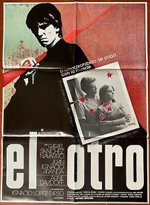 Plakat Spanische El Otro Arturo Ripstein Rafael Sanchez Naverro