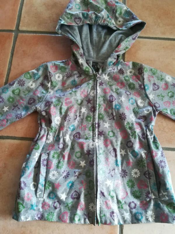 ** Jacke Regenjacke Zara Grau Glänzend Mit Symbolen Gr. 110 ** Rabatte Verkauf