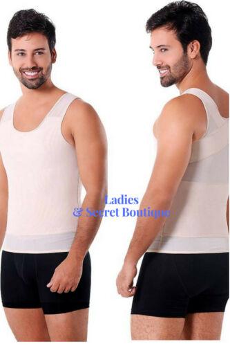 Faja Colombiana Ann Michell Powernet TShirt Underwear Abdomen Control Fit/&Slim