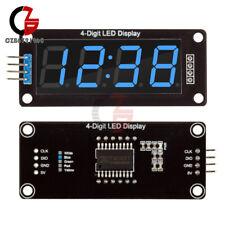 5pcs 056 Tm1637 4 Bit Digital Led 7 Segment Clock Tube Display F Arduino Blue