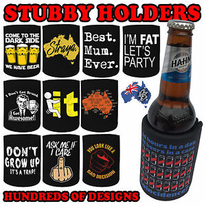 Premium stubby holder funny beer tin bottle can cooler present image is loading premium stubby holder funny beer tin bottle can publicscrutiny Image collections