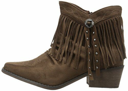 Pick SZ//Color. Roper Womens Fringy Western Boot