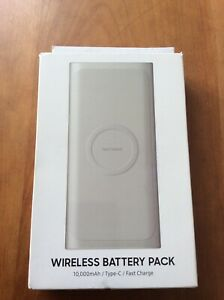 10,000mAh Wireless Battery Pack Silver