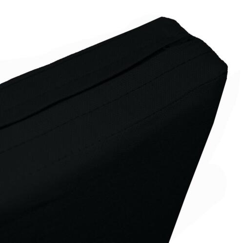 Aw30t Black High Quality 12oz Thick Cotton Canvas 3D Seat Sofa Cushion Cover