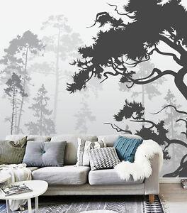 3d Jungle Loup 23 Photo Papier Peint En Autocollant Murale Plafond