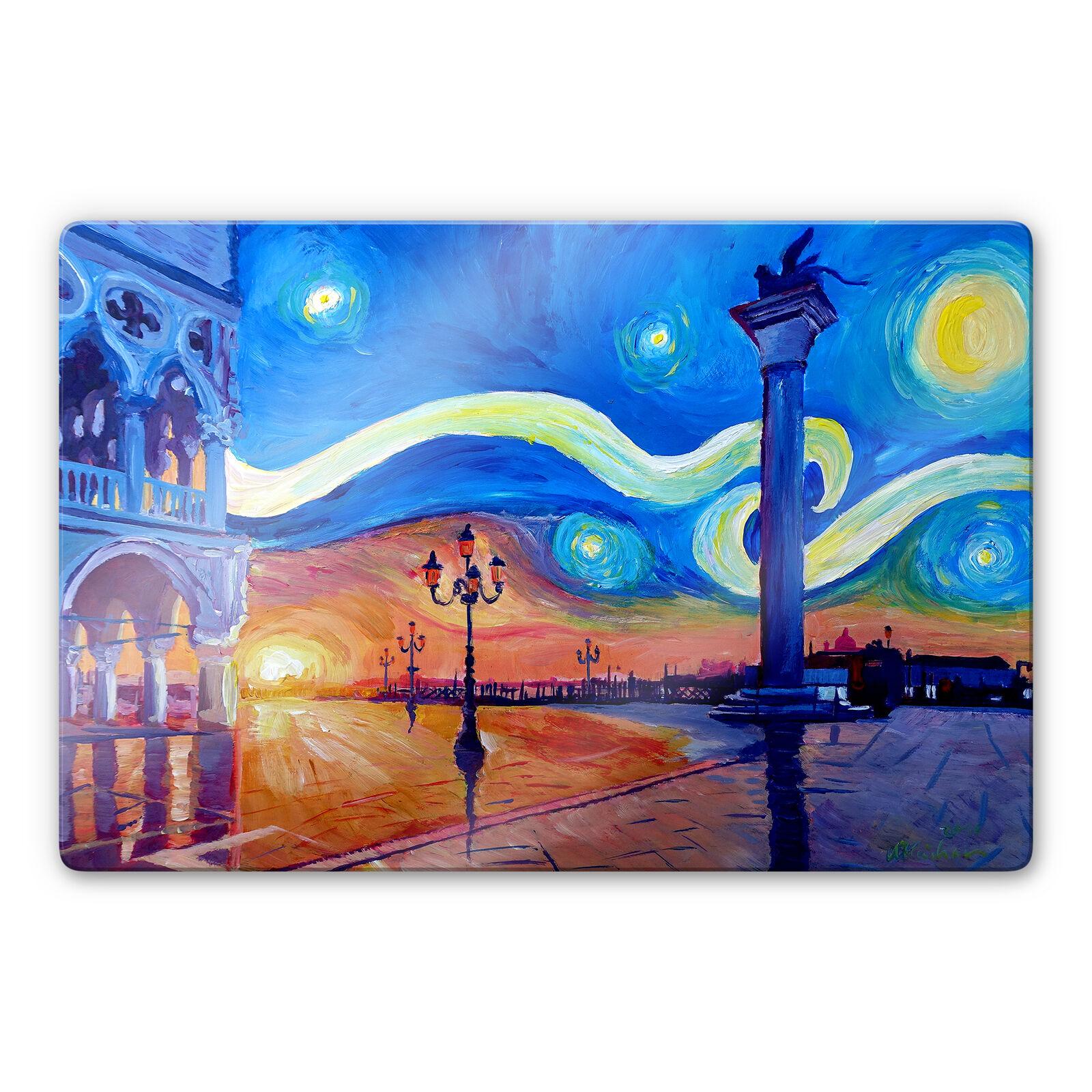 Générons Bleichner-Venise dans la nuit la fresque déco directement Pression Image