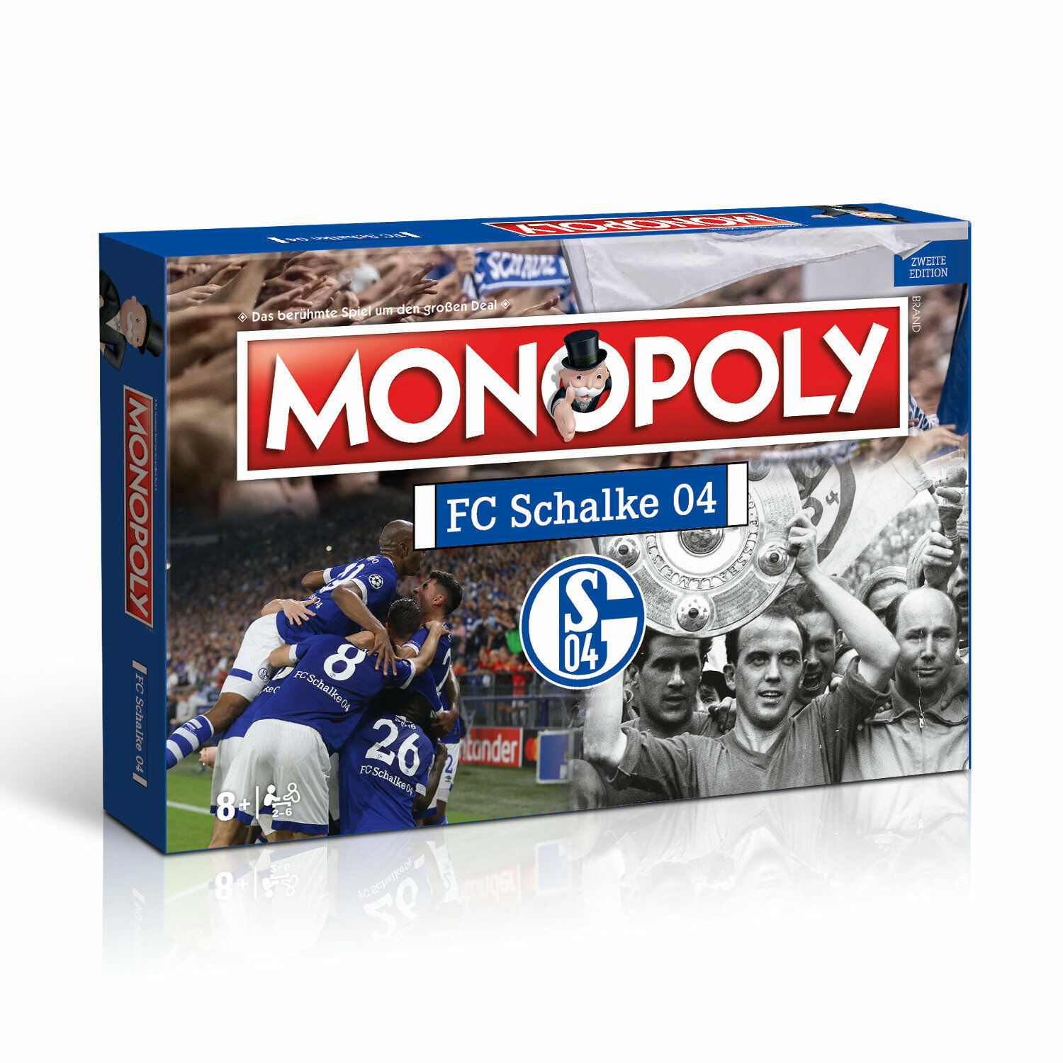 Monopoly FC Schalke 04 s04 Board Game Soccer Game Company Game