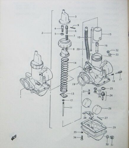 Carburateur Carburateur Pièces SUZUKI GT 250 K-L