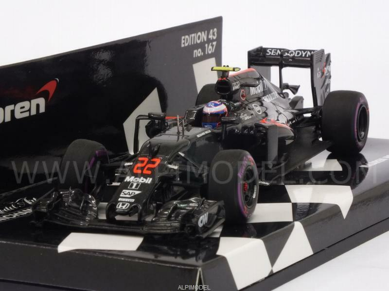 McLaren MP4 31 Honda GP Monaco 2016 Jenson Button 1 43 MINICHAMPS 530164122