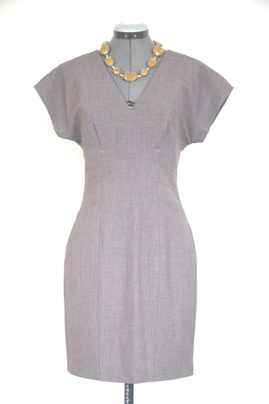 Marc New York by Andrew Marc shift suit dress-zipper back-sz 2 S-NWT