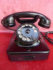 Beau- Vieux Téléphone __ bakélite __!-it__ !afficher le titre d`origine DGrnwqZa-08051634-368669190