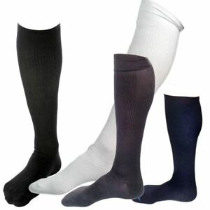 d6deee849 Image is loading Men-039-s-Knee-High-Ribbed-Compression-Support-