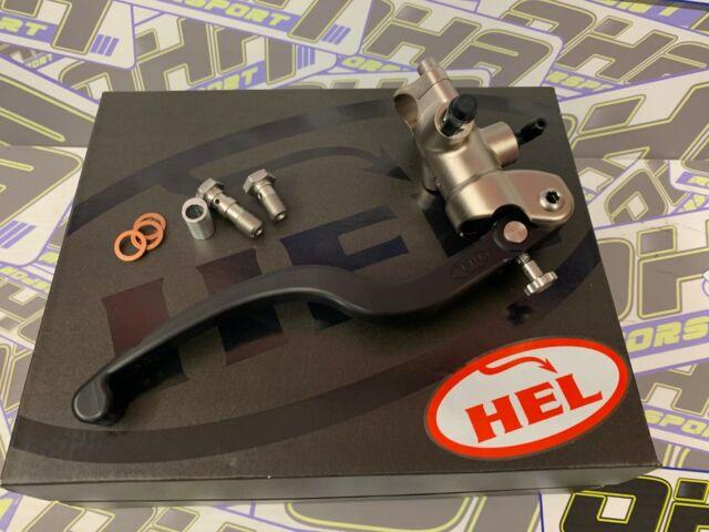 HEL Performance Radial Front Brake Master Cylinder - Motorcycle Race Track CNC