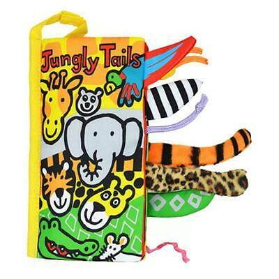 Animal Tails Cloth Book Baby Kids Toy Development Books Learning Education Gift