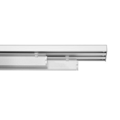 Lichtblick Paneelwagen für Flächenvorhang mit Klettband und Beschwerung 60 cm