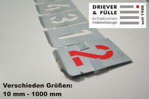 Signierschablonen-Ziffernsatz-0-9-Schrifthoehe-30mm-Zinkblech