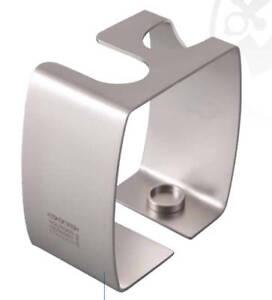 DOVO-Satin-Stainless-Steel-Straight-or-DE-Razor-amp-Shaving-Brush-Stand-499806