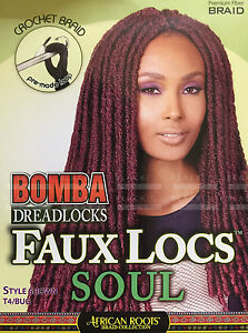 Bobbi Boss Bomba Dreadlocks Faux Locs Soul 18 Quot Pre Made