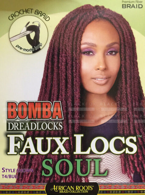 Bobbi Boss A Dreadlocks Faux Locs Soul 18 Pre Made Loop Crochet