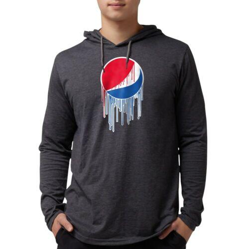 CafePress Pepsi Varsity Drip Mens Hooded Shirt 164150035