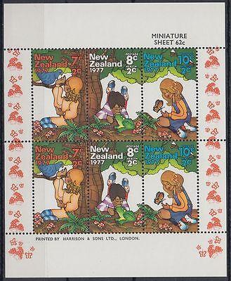 sq6901 Ausdauernd New Zealand 1977 ** Mi.723/25 Klbg Gesundheit Health