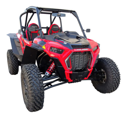 MudBusters Polaris RZR XP Turbo S Max Coverage Fender Flares Mud Flaps