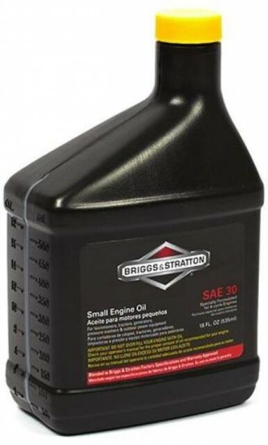 Buy Briggs Stratton 100005 Sae 30w Engine Oil 18 Oz Online Ebay