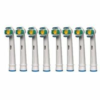 8x Replacement Electric Toothbrush Brush Heads For Eb-18a Oral B Braun Vitality