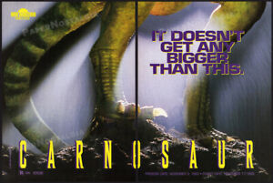 CARNOSAUR__Original 1993 Trade print AD / ADVERT__DIANE LADD__dinosaur horror