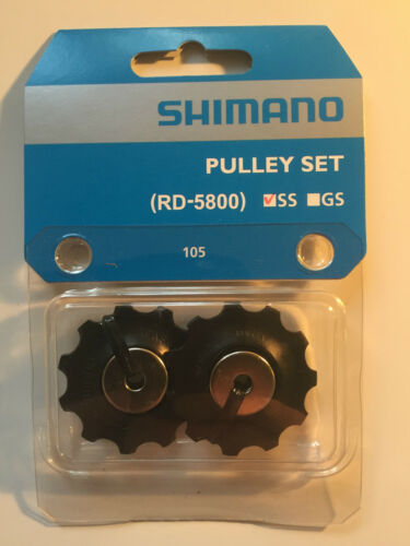 11T for 105 Short Cage Jockey Wheels 11-Speed Shimano Pulley Set RD-5800 SS