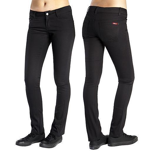24c064168cc Dickies Girl Junior s Original 4 Pocket SKINNY Leg Pant Black 11 for sale  online
