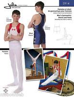 Jalie 2914 Men's & Boys' Gymnastics Pants & Shorts Sewing Pattern In 22 Sizes